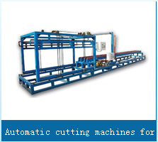 Automatic cutting machines for square blocks