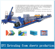 EPS Extruding foam sheets production line